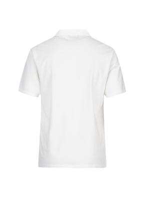 엠보조직 티에리 반팔 티셔츠(WH)