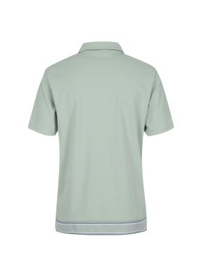 립변형 티에리 반팔 티셔츠(LKH)