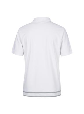 립변형 티에리 반팔 티셔츠(WH)
