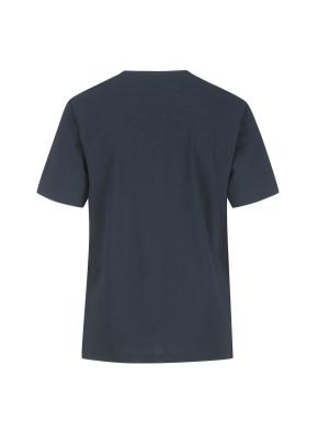 슬럽원단 넥변형 반팔 티셔츠(DNV)