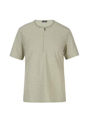 넥변형 슬럽 티셔츠(KH)