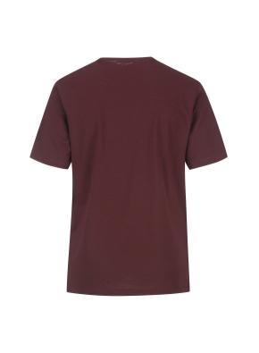 슬럽원단 넥변형 반팔 티셔츠(WN)