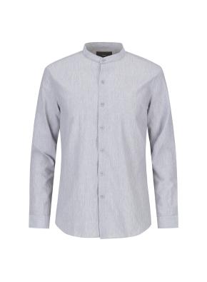 추연사 소재 밴드카라 셔츠(GR)