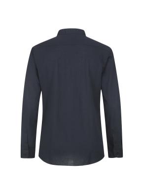 면혼방 스탠드넥 셔츠(NV)
