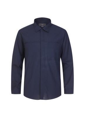 히든 포켓 셔츠(NV)