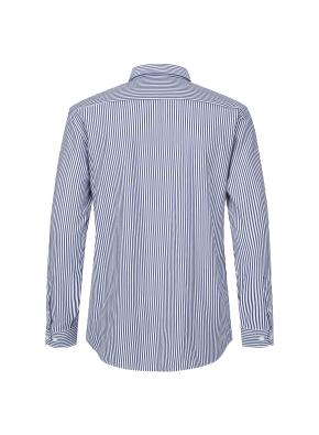 스트라이프 버튼다운 셔츠(NV)