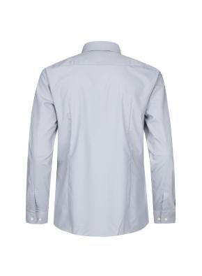 폴리레이온 솔리드 드레스셔츠(BL)