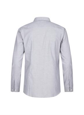잔조직 패턴 스트레치 드레스셔츠(GR)