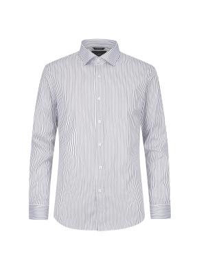 스트라이프 드레스 셔츠(GR)