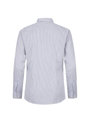 스트라이프 드레스 셔츠(NV)