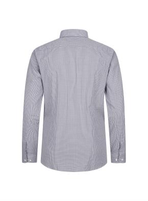 이모션 면스판 잔체크 드레스셔츠(GR)