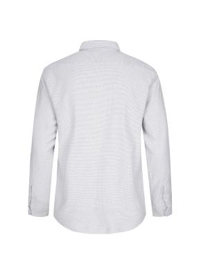 히든버튼 잔조직 플란넬 셔츠 (LGR)