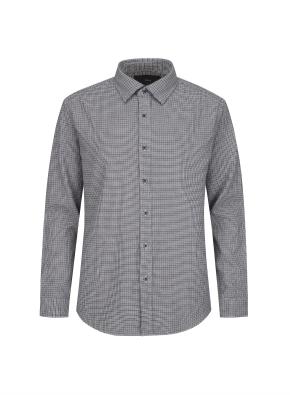히든버튼 하운드투스 플란넬 셔츠 (GR)
