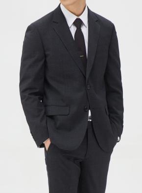 그레이 크레스피노 트윌 이모션 임팩트 수트 자켓