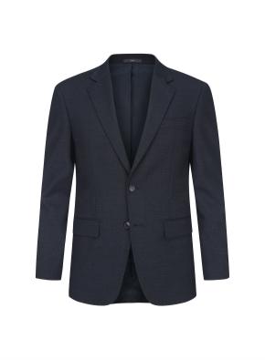 네이비 크레스피노 트윌 이모션 임팩트 수트 자켓