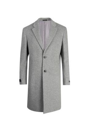캐시미어혼방 등판퀼팅 체스터 코트 (LGR)
