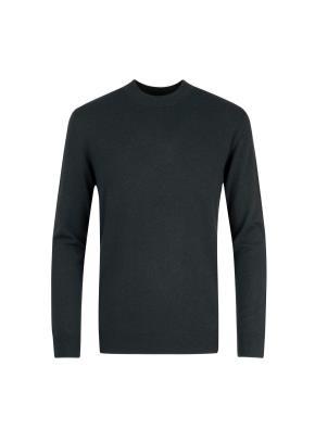 울캐시 반터틀넥 스웨터 (GN)