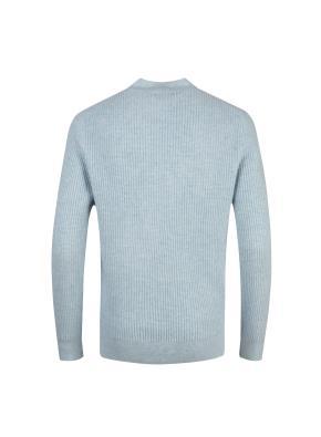 울캐시 와플조직 반터틀넥 스웨터 (LMT)
