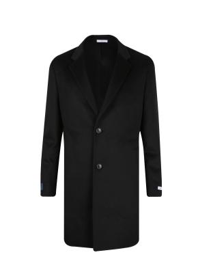 캐시미어혼방 기본 체스터 코트 (BK)