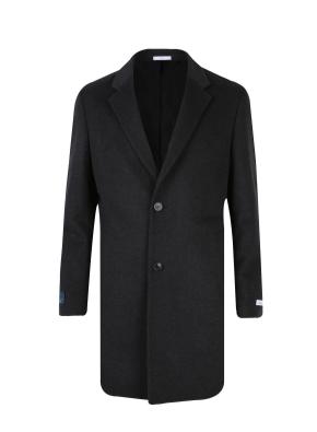 캐시미어혼방 기본 체스터 코트 (GR)