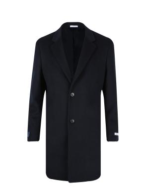 캐시미어혼방 기본 체스터 코트 (NV)