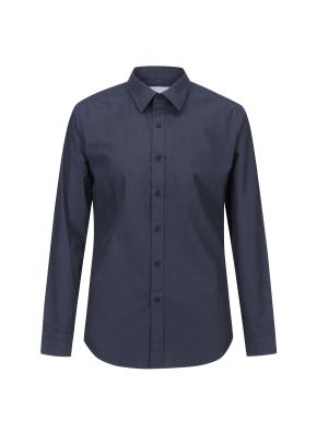 코튼 필라필 레귤러카라 케쥬얼셔츠