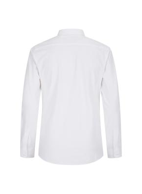 저지 솔리드 드레스셔츠(WT)
