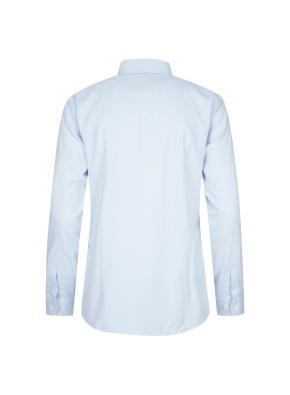 솔리드 스탠다드핏 드레스셔츠(BL)