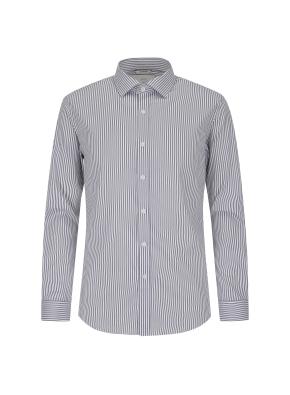 스트라이프 드레스셔츠(GR)