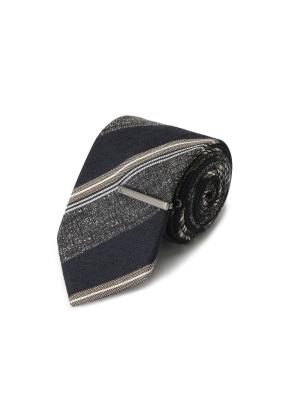 레지멘털 패턴 넥타이