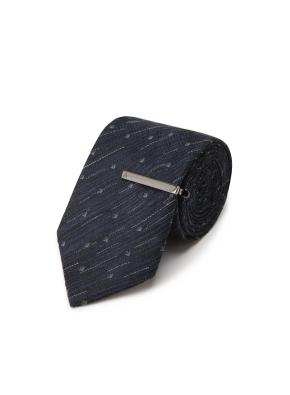 스퀘어도트 패턴 넥타이