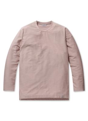 남성 리버스테리 솔리드 라운드 티셔츠 _ (LPK)