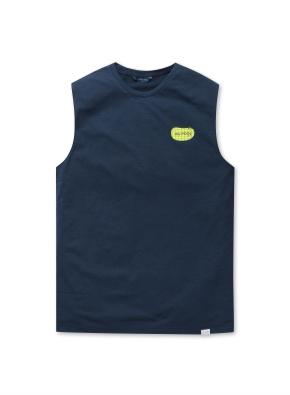 the POOL 그래픽 민소매 티셔츠
