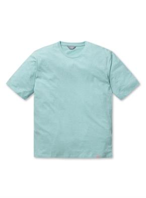 컬러 멜란지 반팔 티셔츠