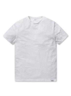 슬럽 라운드넥 반팔 티셔츠