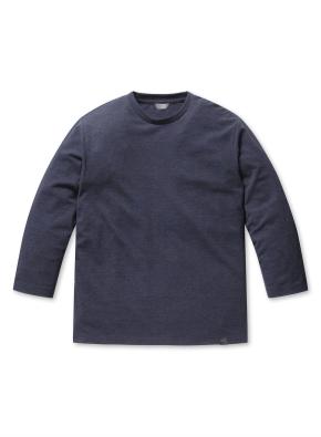남성 피케 조직 7부 티셔츠 _ (MNV)