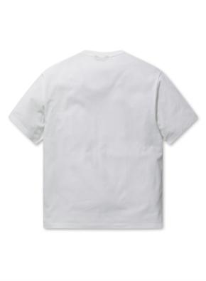 남성 에어로쿨 포켓 반팔 티셔츠 _ (WH)
