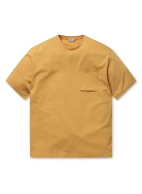 남성 에어로쿨 포켓 반팔 티셔츠 _ (YE)