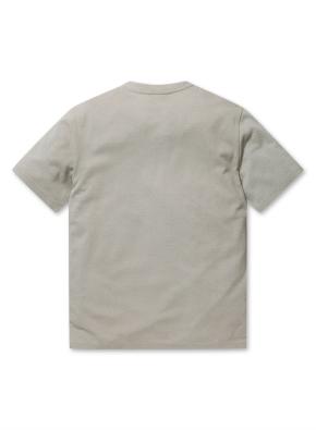 남성 에어로쿨 슬릿넥 반팔 티셔츠 _ (BE)
