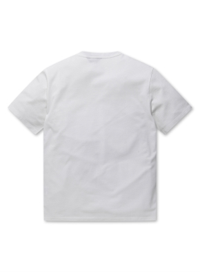 남성 에어로쿨 슬릿넥 반팔 티셔츠 _ (WH)