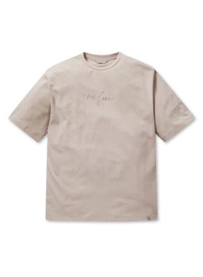 쿨텐션 자수 아트웍 반팔 티셔츠