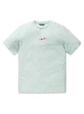 the POOL 그래픽 반팔 티셔츠