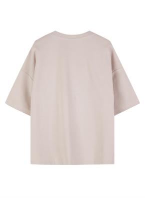 여성 쿨텐션 5부 티셔츠 _ (BE)