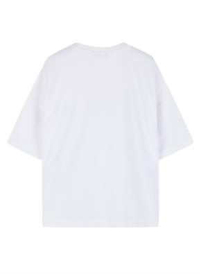여성 쿨텐션 5부 티셔츠 _ (WT)