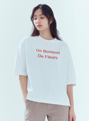 여성 쿨텐션 5부 티셔츠