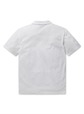에어로쿨 슬릿넥 반팔 카라 티셔츠