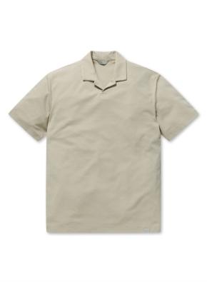 쿨텐션 오픈 카라 티셔츠