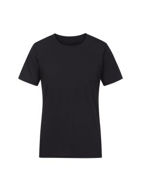 남성 쿨스킨 라운드넥 반팔 티셔츠 _ (BK)