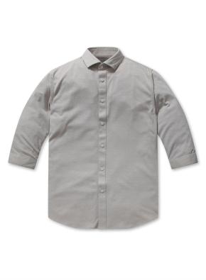 폴리 코튼 라이트 저지 7부 셔츠