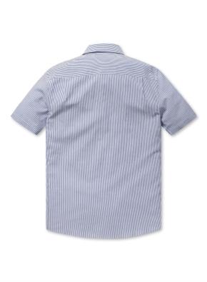 쿨스킨 코튼 기본카라 반팔 셔츠